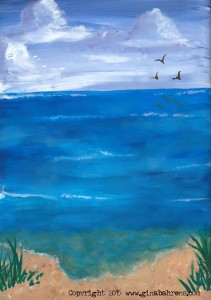 jkis 2015 July wk3  Ginas Dylusions down by the sea